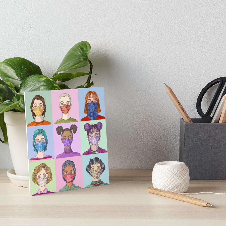 Face Mask Fashion print