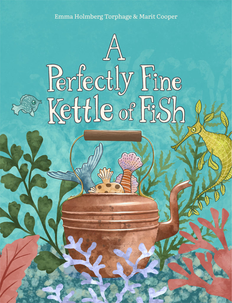 Kitchen from A Perfectly Fine Kettle of Fish by Marit Cooper