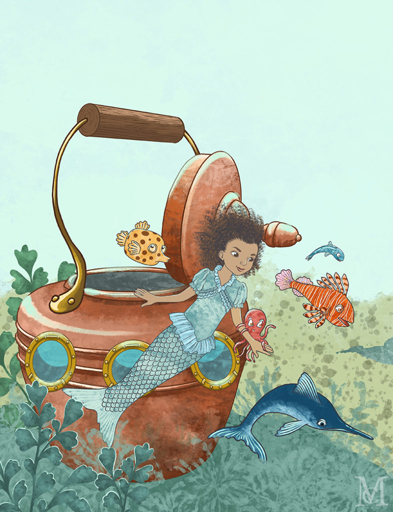 Lookout from A Perfectly Fine Kettle of Fish by Marit Cooper